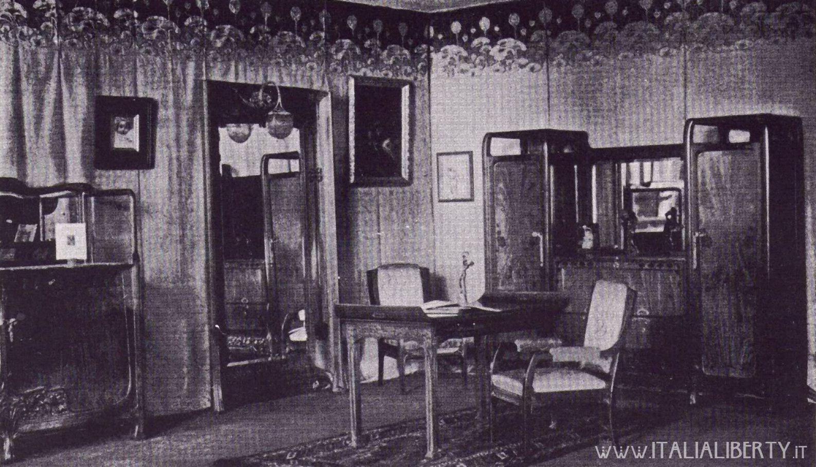 Liberty Arredamento ~ Www.italialiberty.it interni di palazzo castiglioni 1903 con