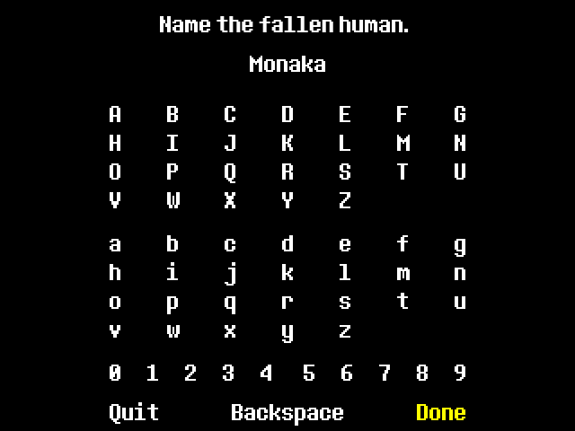 These Two Fonts Were Designed To Represent The In Game Text As Seen In The Video Game Undertale Pixel Font Undertale Logo Fonts