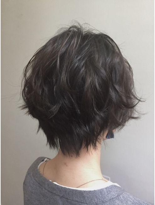 ゆるふわショート[イルミナカラー][髪質改善][銀座]:L012598921|アクシー 銀座店(AX