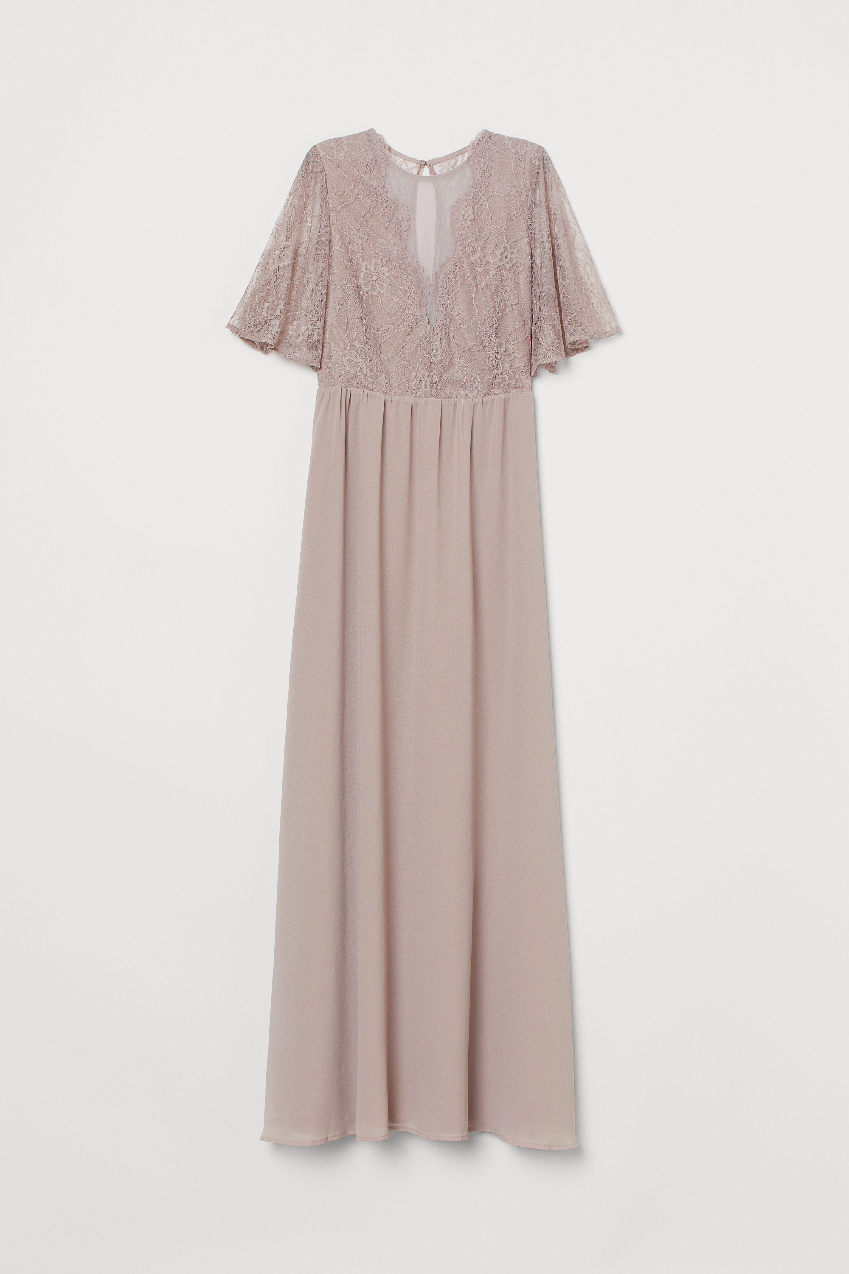 Langes Kleid mit Spitze in 10  Lange kleider