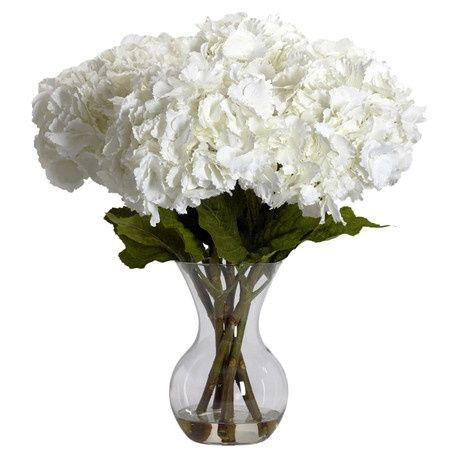 For When I Want Nice Blooms Out Of Season Hydrangea Flower Arrangements Flower Vase Arrangements Silk Hydrangeas Arrangements