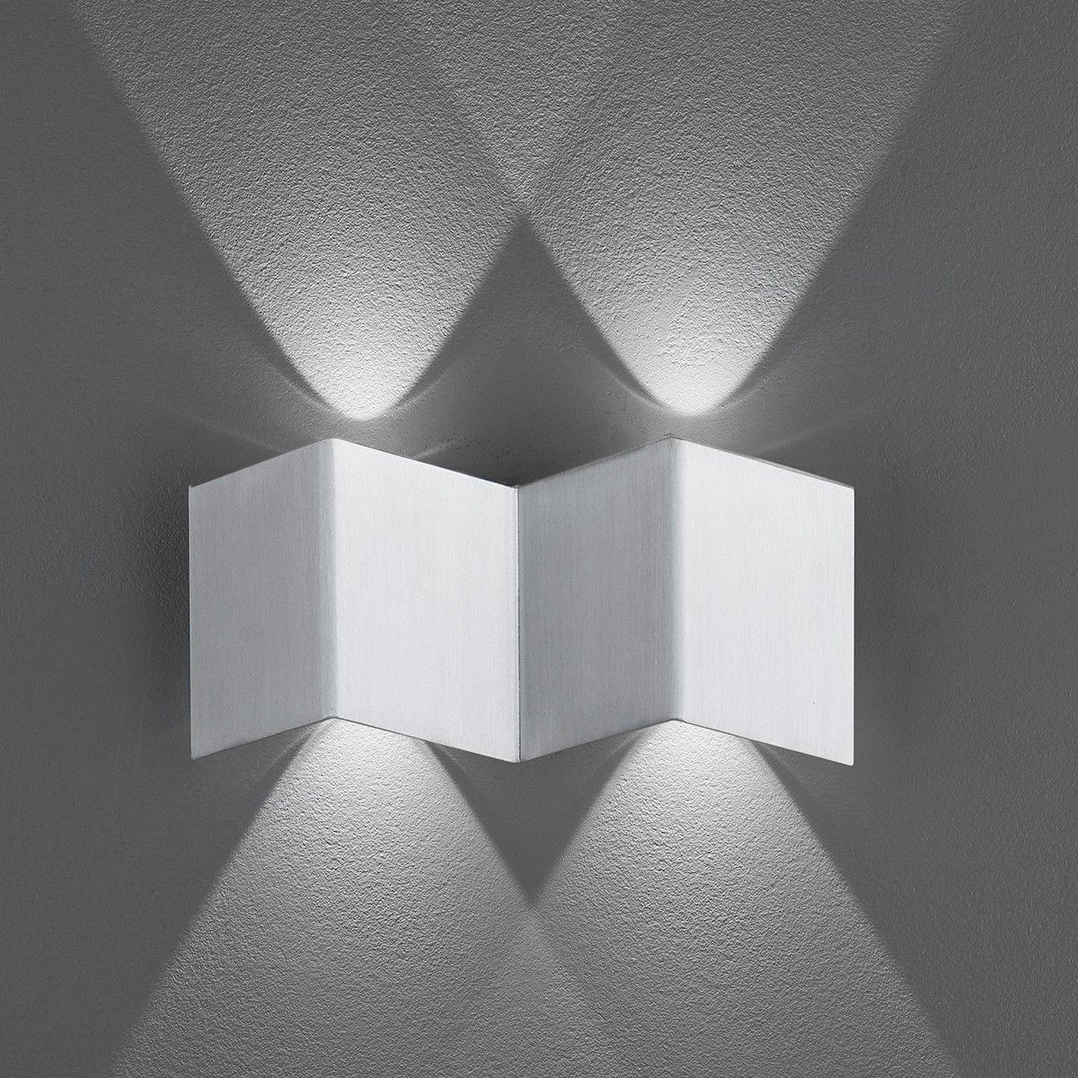 B Leuchten Prince 40236 Wandleuchte Aluminium Mit Bildern Wandleuchte Led Einbaustrahler Lampe Mit Batterie