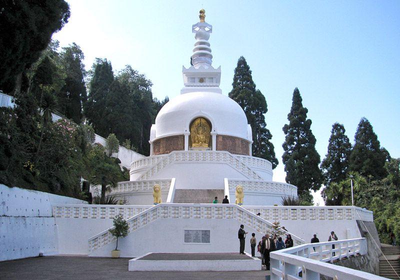 জাপানি মন্দির এবং শান্তি প্যাগোডা (Japanese Temple & Peace Pagoda )