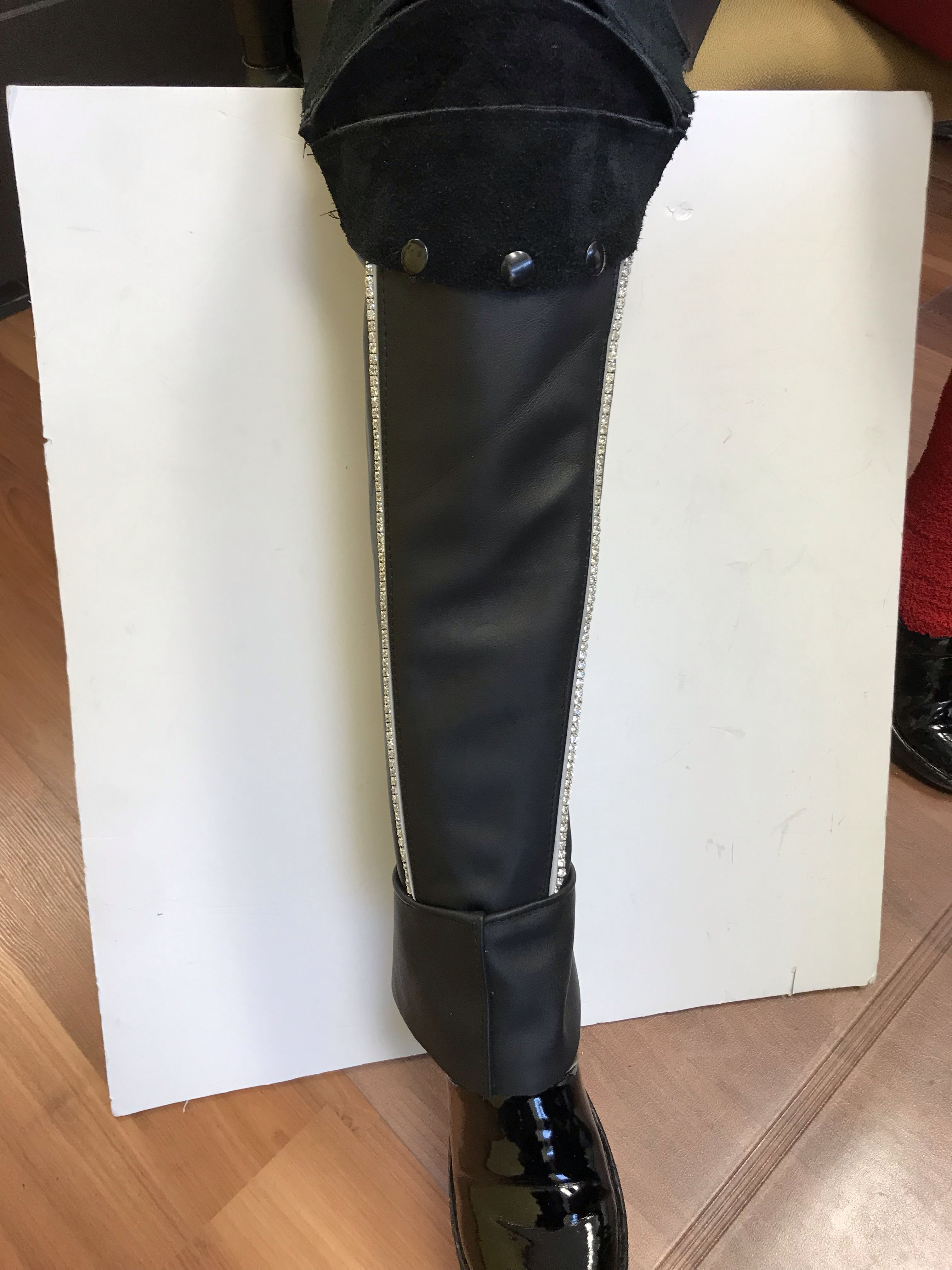 Quarterchaps Leather thigh high boots, Thigh highs, Boots