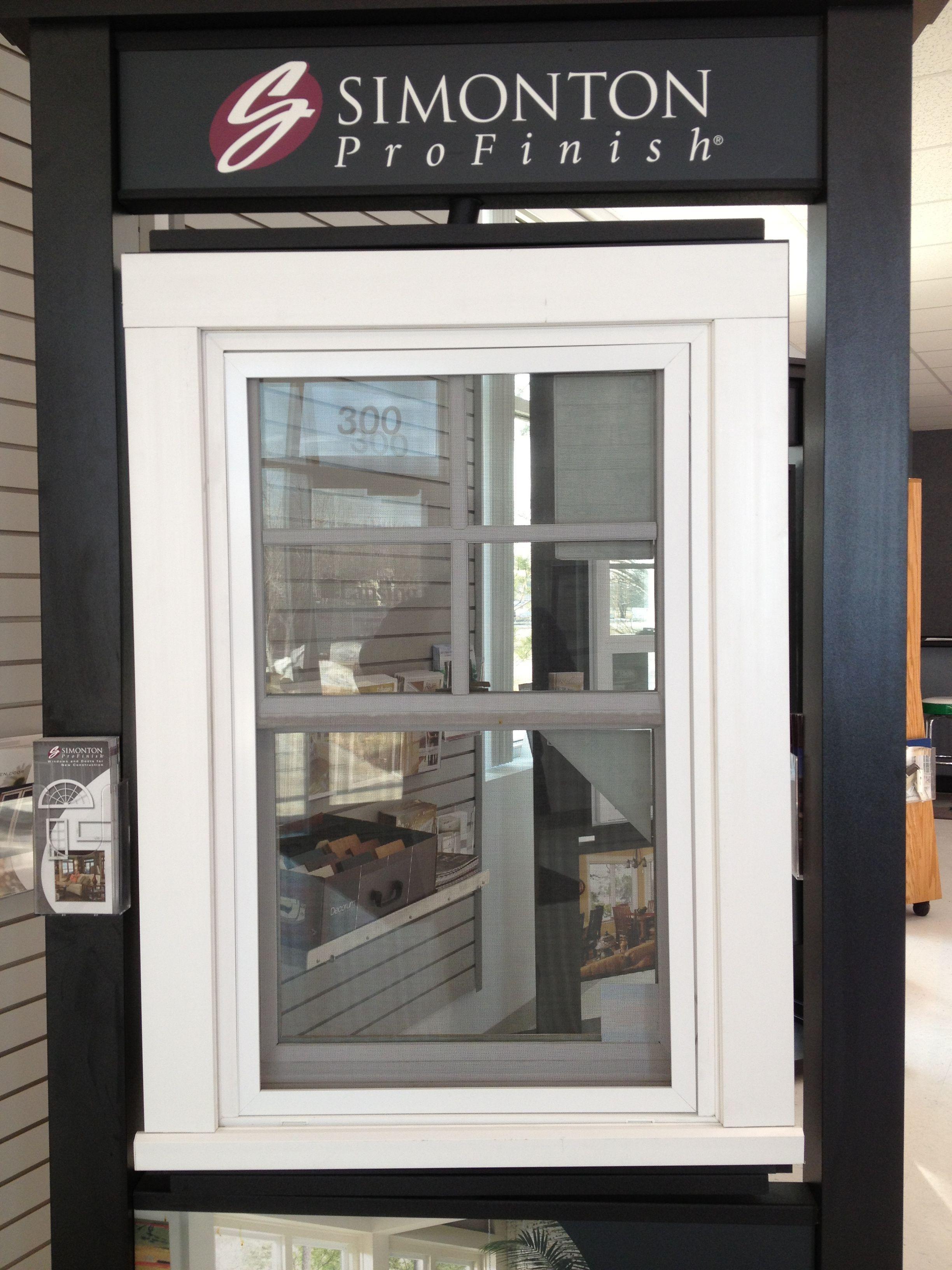 Simonton Profinish Double Hung Vinyl White With 3 Exterior Casing Window Casing House Exterior Simonton
