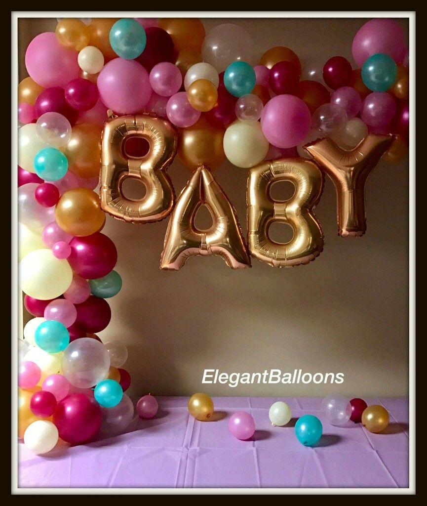 Arco organico | Baby shower | Pinterest | Arco, Globo y Decoración ...