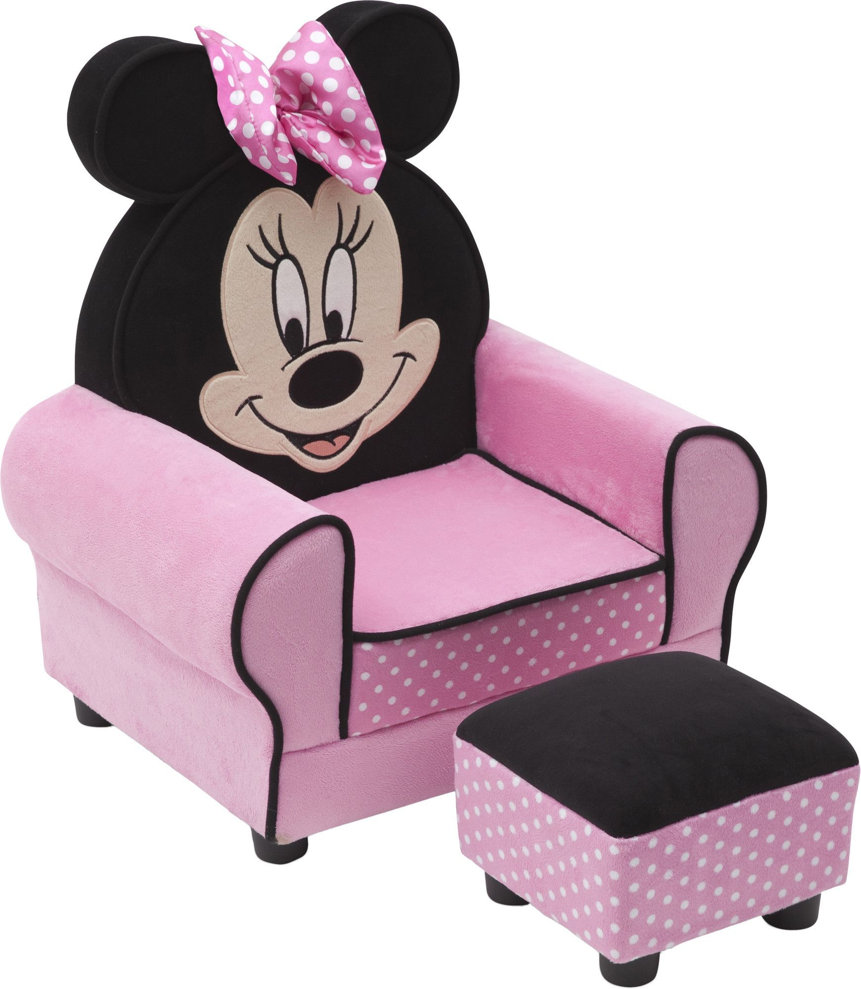 Found It At Wayfair Minnie Mouse Kids Club Chair And Ottoman