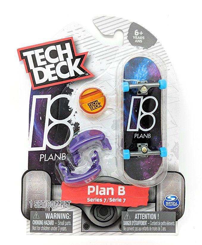 Tech Deck PLAN B Series 7 Black Hole Space Fingerboard