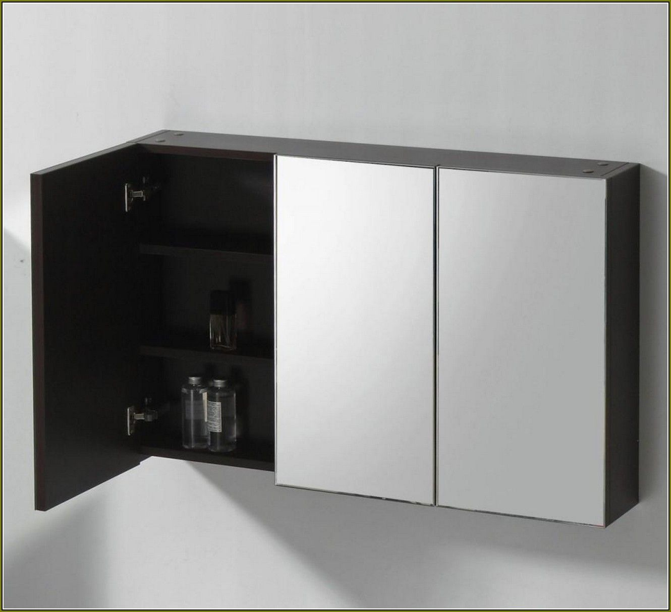 Bathroom Cabinets With 3 Mirrored Doors | Kitchen, Bath & Laundry ...