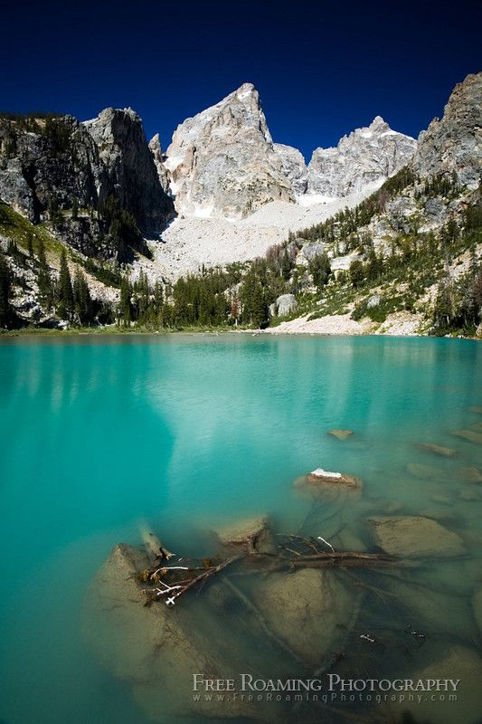 Delta Lake, Grand Teton National Park - I WILL be making this hike this summer