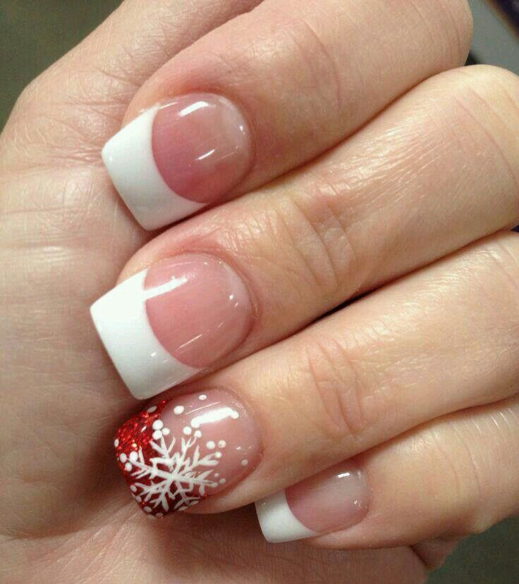Copo de nieve | Nails | Pinterest | Make up, Manicure and Hair make up