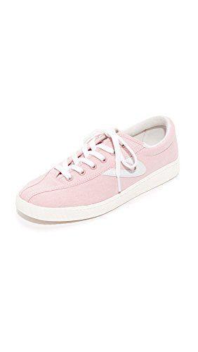 Tretorn Women's Nylite Plus Chambray Sneakers, PinkWhite