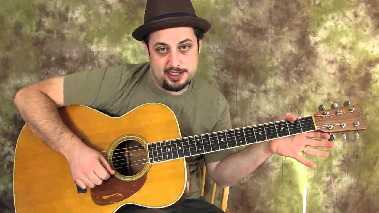 Acoustic Blues Guitar Lessons - Acoustic Blues Lick