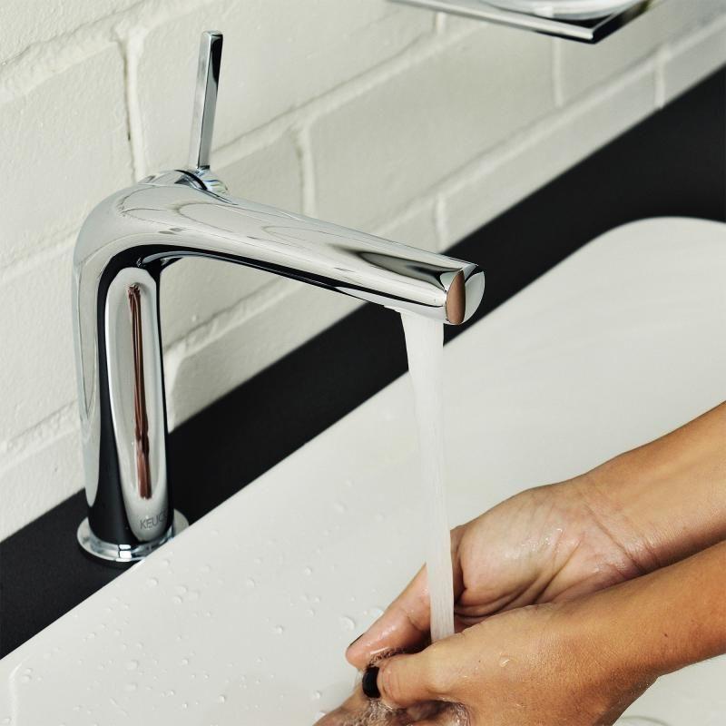 keuco edition 400 einhebel waschtischmischer 290 ohne ablaufgarnitur 51502010103 reuter. Black Bedroom Furniture Sets. Home Design Ideas