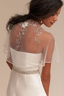 Ayala Shrug Wedding Dress Accessories Dresses Bridal Cape