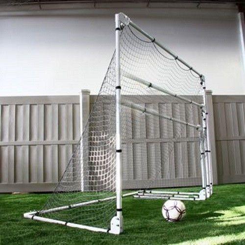 Adjustable Folding Soccer Goal Portable Net Kid Practice Gear Training Equipment Soccer Goal Portable Soccer Goals Kids Soccer Goal