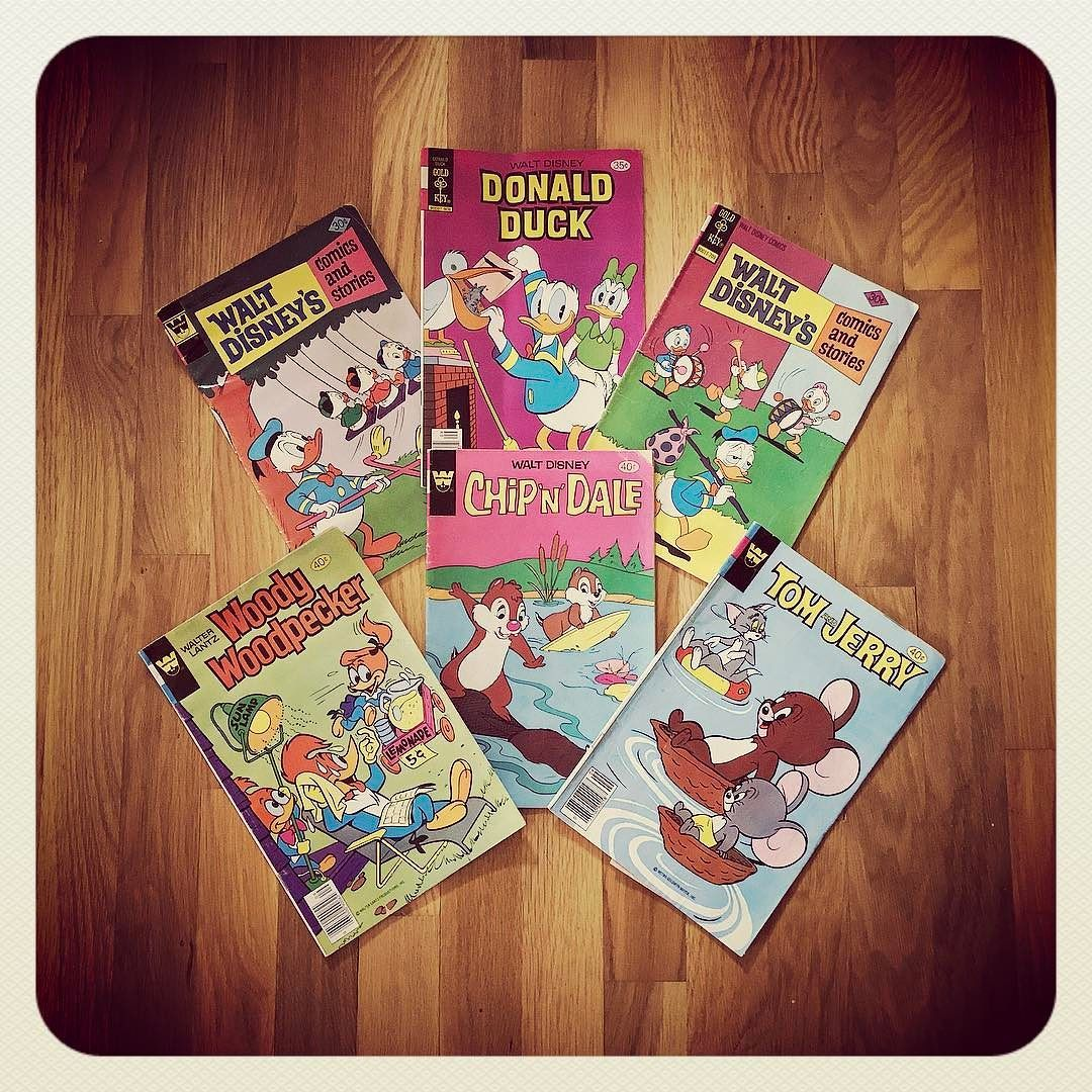 I Grew Up with These Kinds of Comics - Thrifted Today!