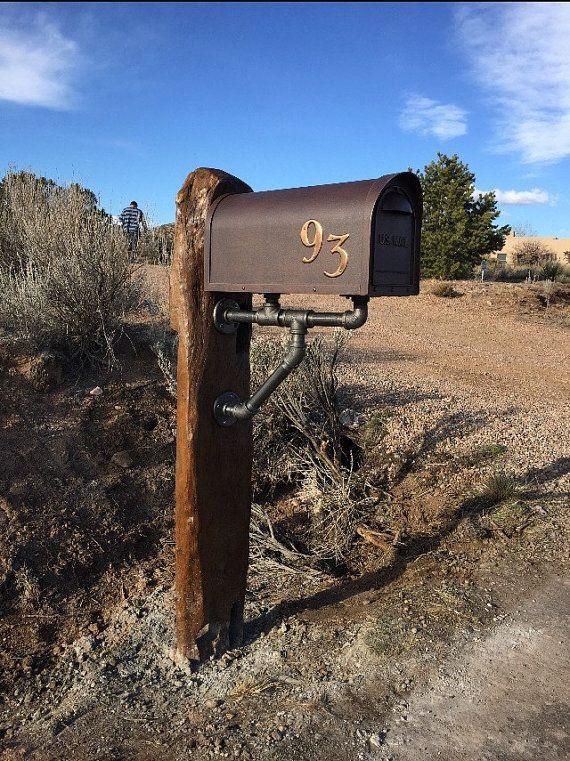 Pin On Iron Mailboxes