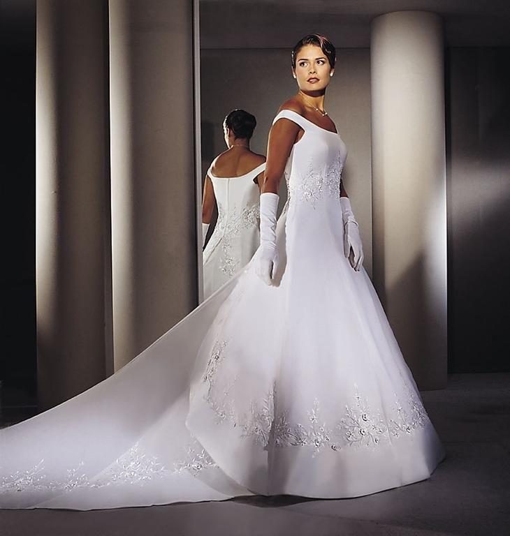 Dimitri Wedding Gowns: Demetrios Ilissa/2610: My Wedding Dress 2001