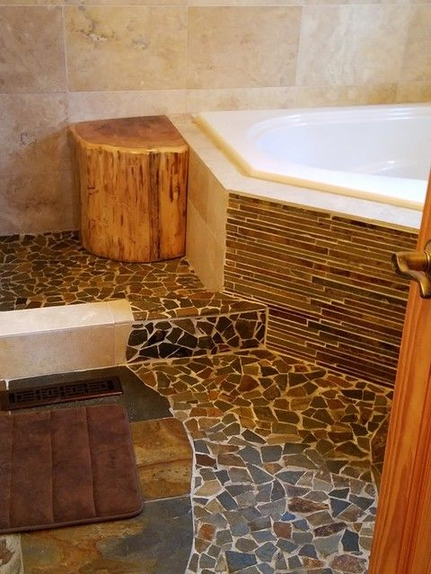 Copper Rust Corinth Slate Mosaic Tile 12 X 12 In The Tile Shop The Tile Shop Wall And Floor Tiles Mosaic Tiles