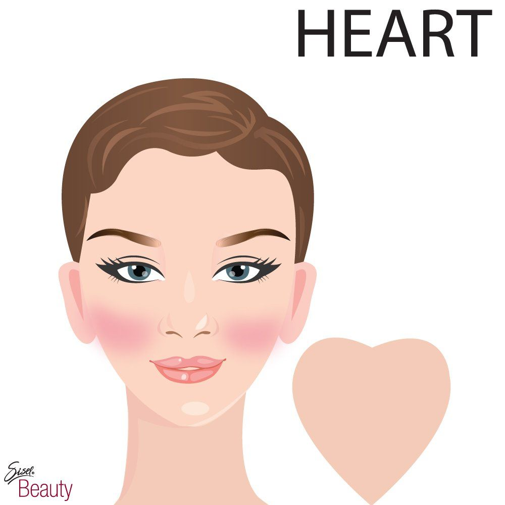 Who Needs A Face Anyway: Heart Shaped Faces Because Your Face Can Appear Pointy, We
