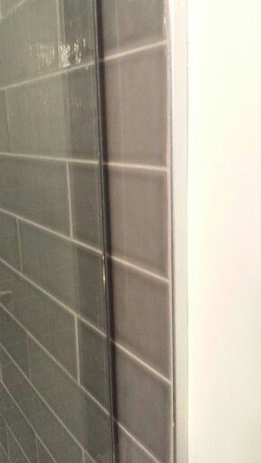 Tile To Drywall Trim Kitchen And Bath Remodeling Tile Edge Window In Shower