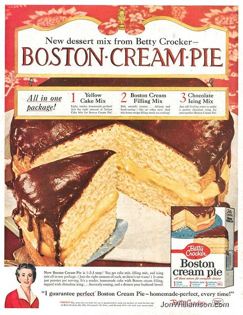 Boston Cream Pie Recipe - BettyCrocker.com