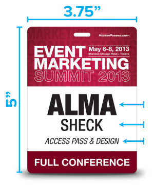 seven simple steps to superb conference badge design gafetes