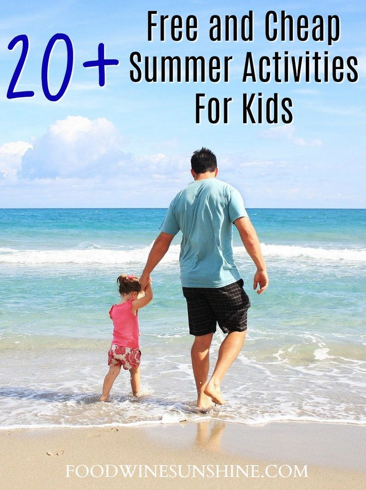, Free and Cheap Summer Activities For Kids, MySummer Combin Blog, MySummer Combin Blog