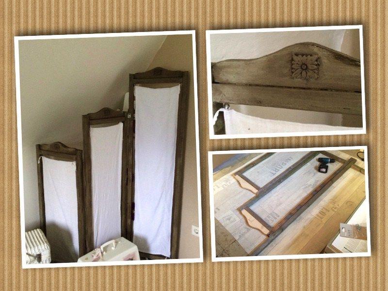 Paravent selber bauen granny 39 s paravent selber bauen selber bauen und raumteiler - Spanische wand selber bauen ...