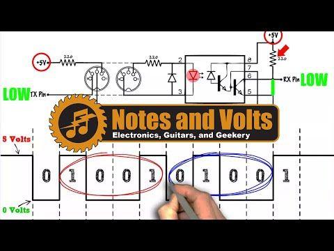 midi for the arduino circuit analysis youtube electronics designmidi for the arduino circuit analysis youtube
