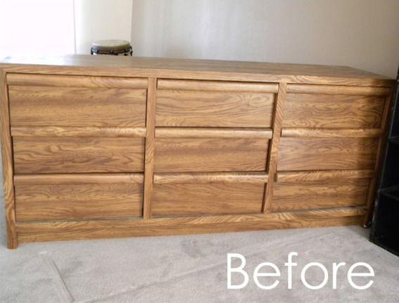 Unbelievable Dresser To Desk Makeover