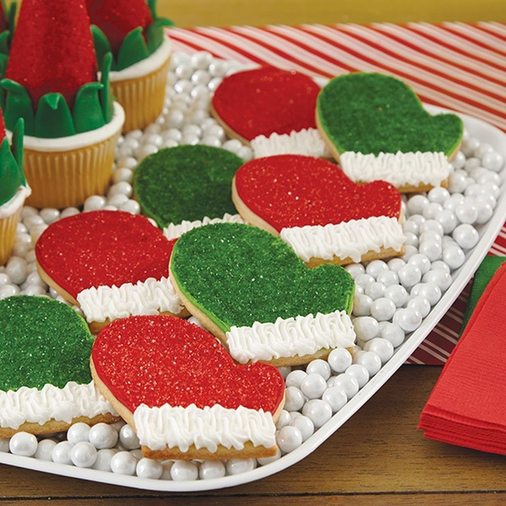 Mitten Cookies Shiny and Bright Cookies in 2019