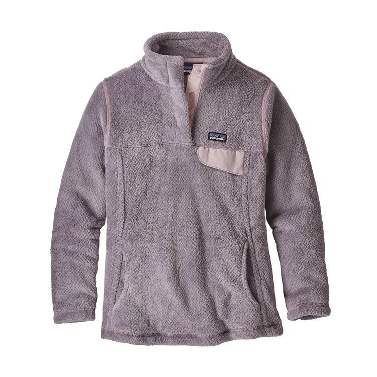 Girls Re Tool Snap T 174 Pullover Smokey Violet Glaze
