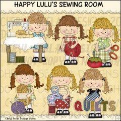 Happy Lulu's Sewing Room 1 - Clip Art by Cheryl Seslar