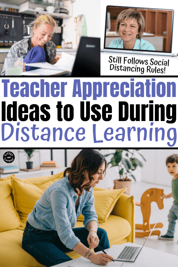 How To Show Your Kid S Teacher Appreciation During Distance Learning In 2020 Teacher Appreciation Distance Learning Kindness Activities