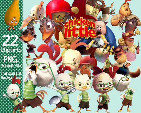 Disney Chicken Little Clipart Transparent Background Png Format Files Clip Art Scooby Doo Png