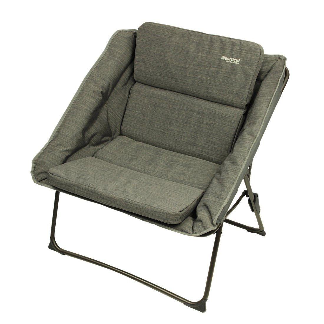 Westfield Marble Xxl Moon Chair Gepolstert Campingstuhl
