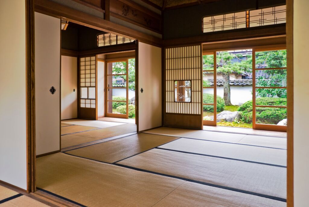 tatami mats Traditional japanese house, Japanese house