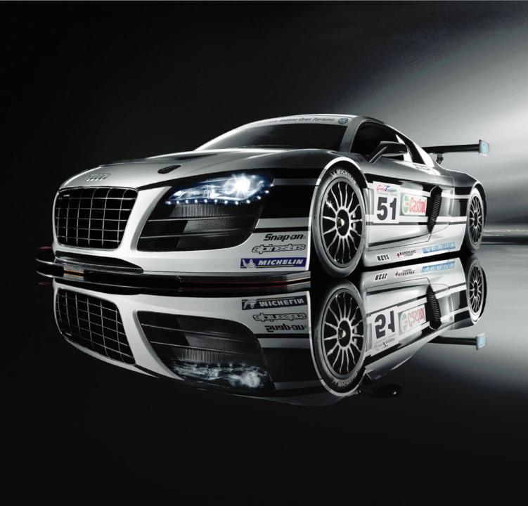 Chris Harris 'Hoons' The Audi R8 LMS Ultra Race Car At