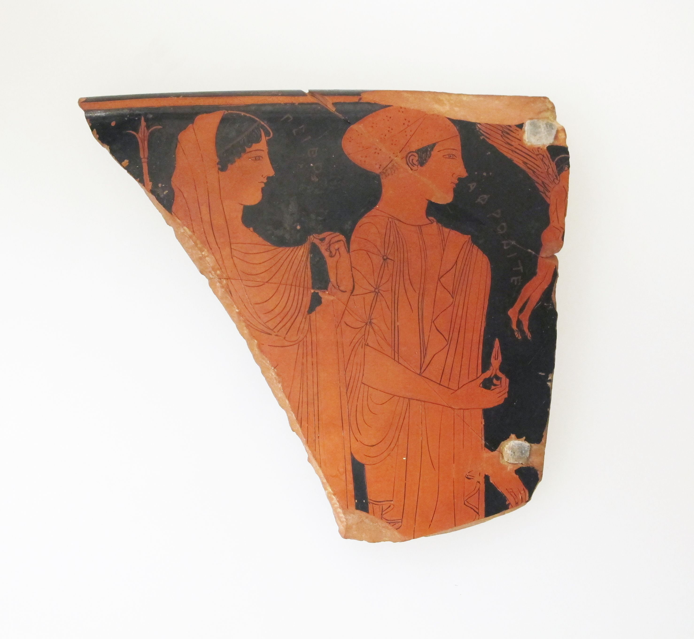 Fragment Of A Terracotta Skyphos (Deep Drinking Cup), Archaic Greece