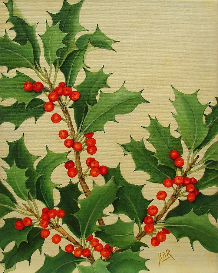 Christmas Holly Holidays Christmas - Have Yourself A Merry Little