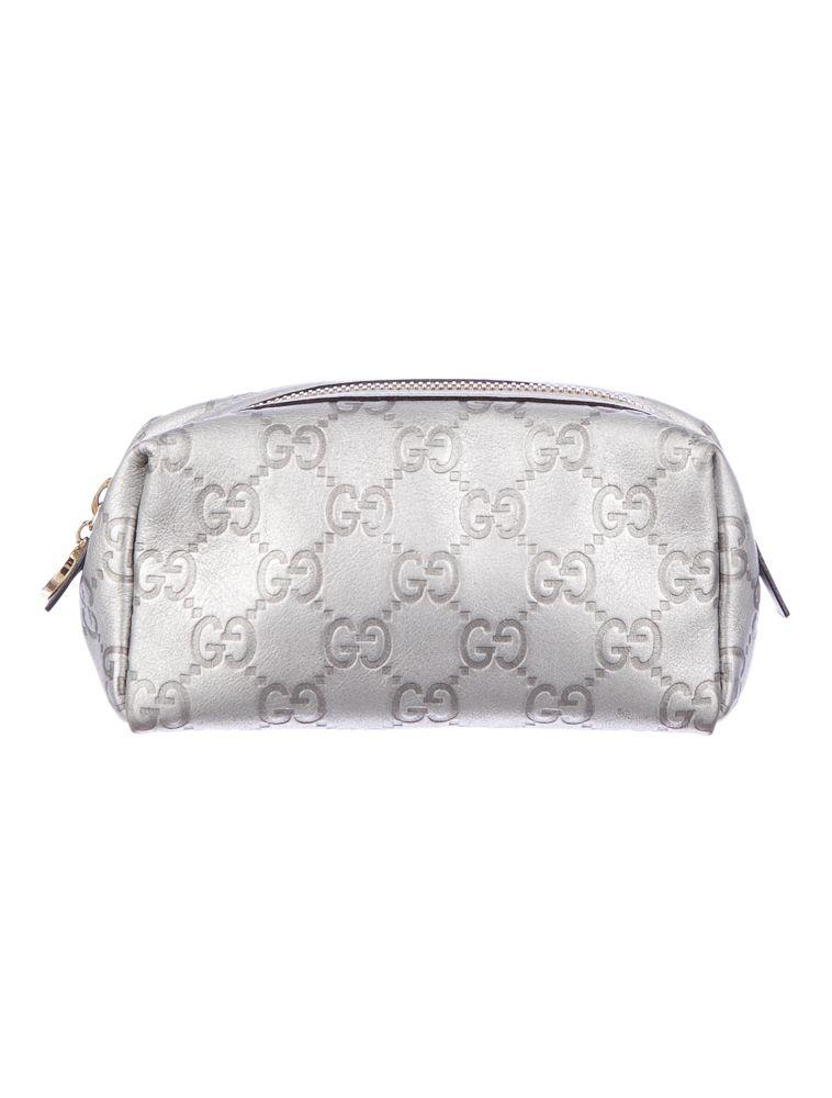 1d1f29f67eab Gucci Guccissima Cosmetic Case.   Gucci   Gucci, Luxury consignment ...
