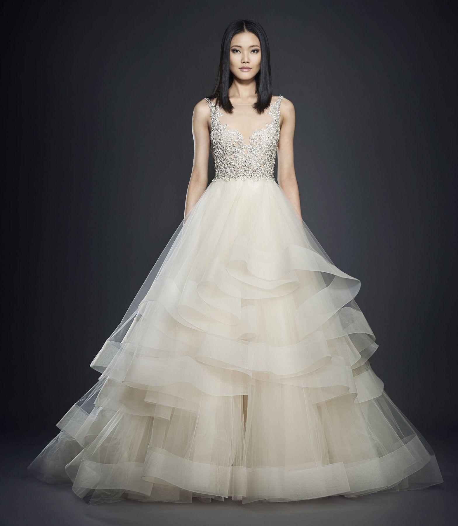 Harry potter wedding dress  Romantic Ball Gown Wedding Dress by Lazaro  Image   Harry Potter