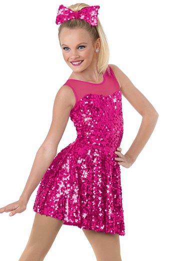 , Sequin Illusion Mesh A-Line Dress, My Pop Star Kda Blog, My Pop Star Kda Blog