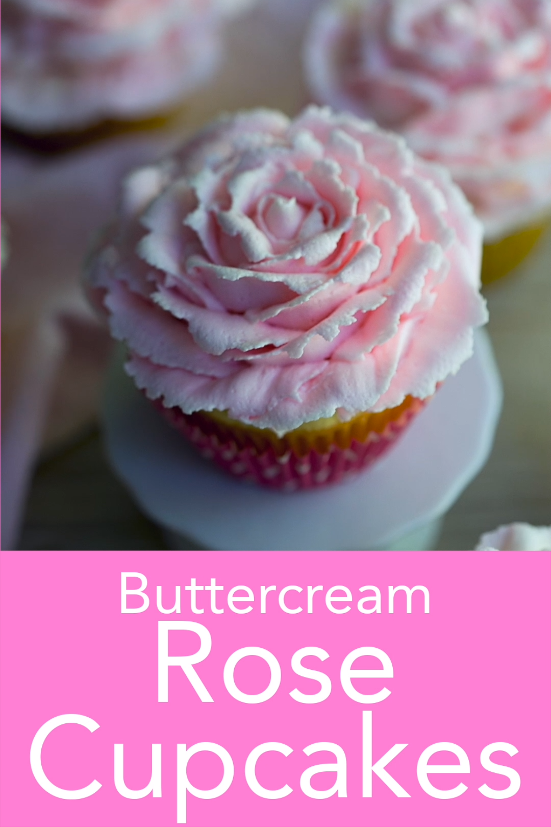 Photo of Buttercream Rose Cupcakes