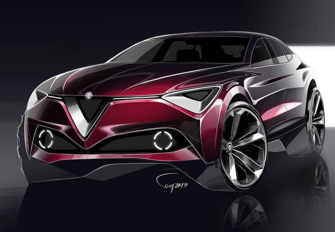"""CarDesignConcept ™︎ on Instagram: """"INCREDIBLE ALFA ROMEO SUV DESIGN🍀 -Made By @morteza_rabiee1 ——————————————————————————— •Use our hashtag: #cdcofficial and tag…"""""""