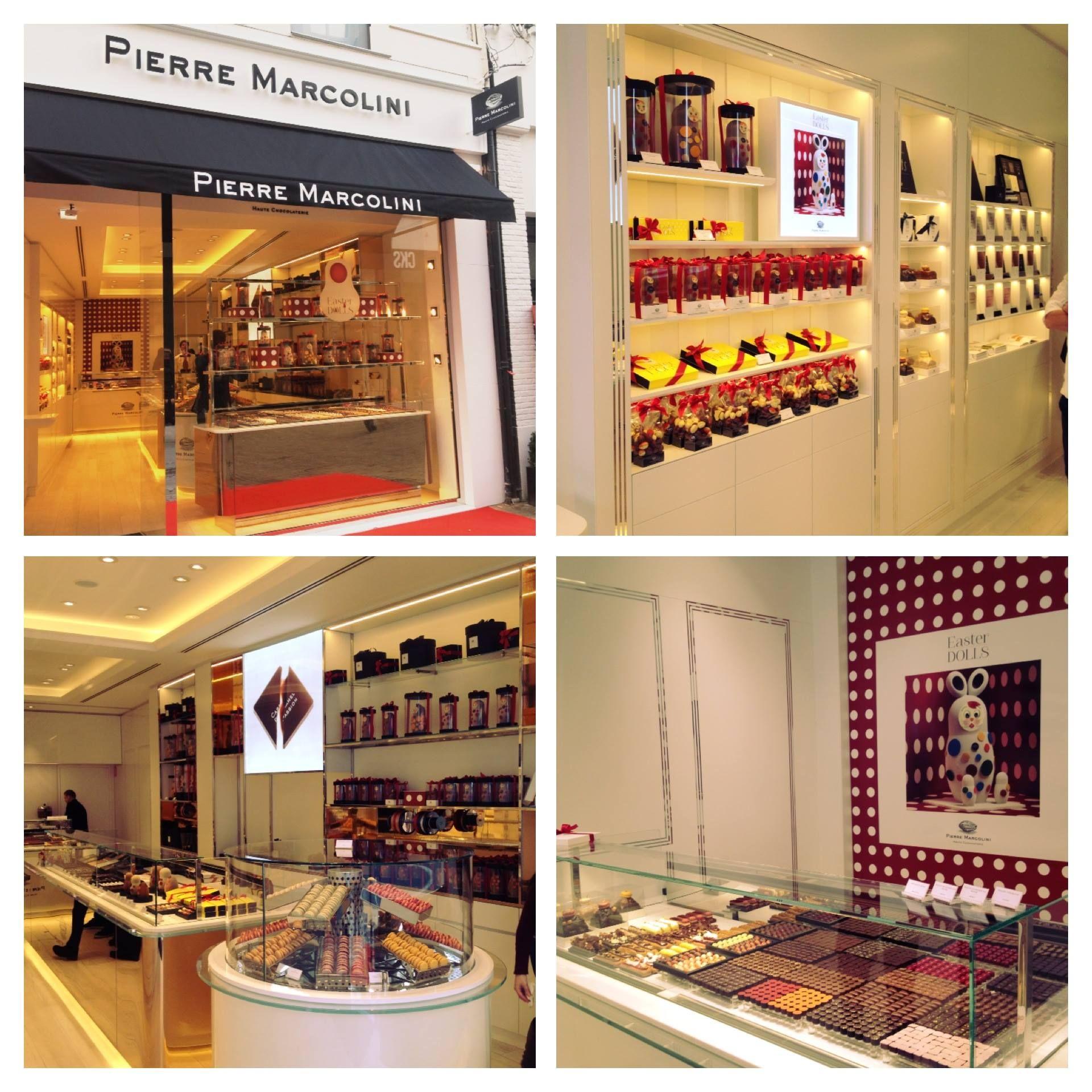 Nouvelle boutique Marcolini Anvers Belgique