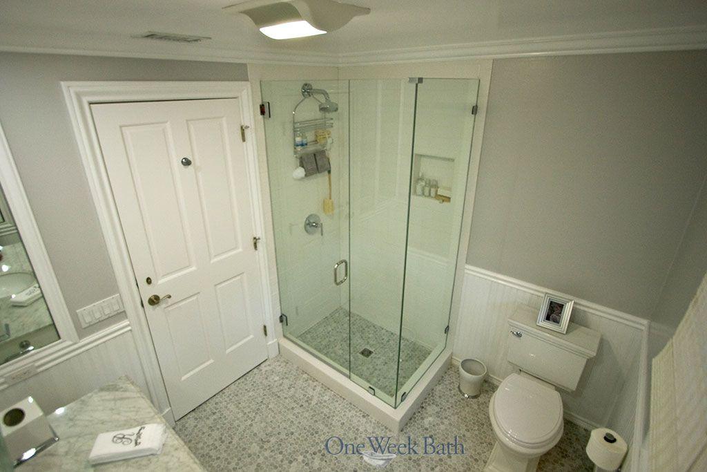 Our Bathrooms Pinterest Cottage Style Bathrooms Bathroom - One week bathroom