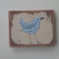 Folk Bird- blue